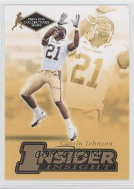 2007 Press Pass Collectors Series [???] #II-12 - Calvin Johnson