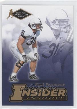 2007 Press Pass Collectors Series [???] #II-18 - Paul Posluszny