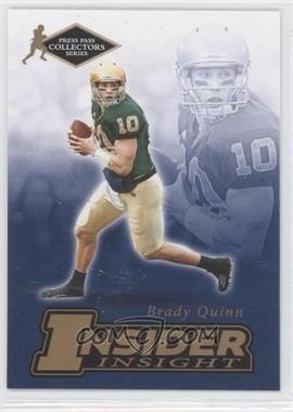 2007 Press Pass Collectors Series [???] #II-19 - Brady Quinn