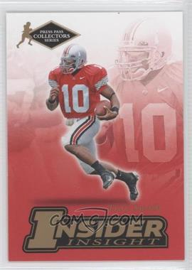 2007 Press Pass Collectors Series [???] #II-23 - Troy Smith