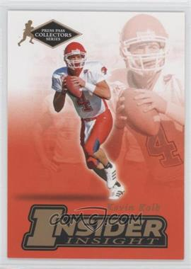 2007 Press Pass Collectors Series [???] #II-25 - Kevin Kolb