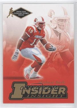 2007 Press Pass Collectors Series [???] #II-3 - Michael Bush