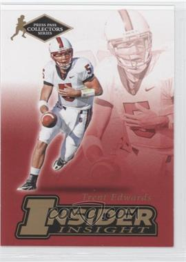 2007 Press Pass Collectors Series [???] #II-5 - Trent Edwards