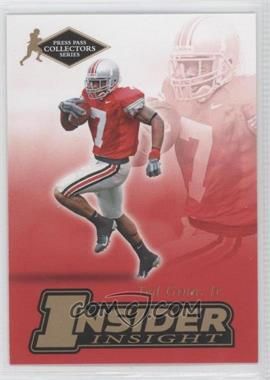 2007 Press Pass Collectors Series [???] #II-6 - Ted Ginn