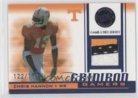 Chris Hannon /150