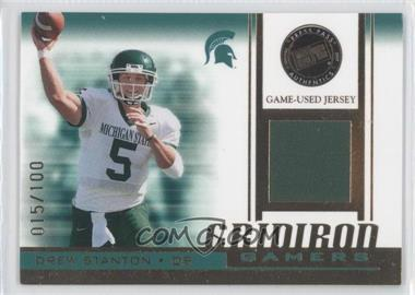 2007 Press Pass Gridiron Gamers Gold #GG-DS - Drew Stanton /100