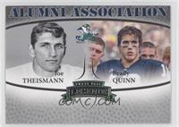Joe Theismann, Brady Quinn