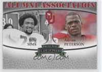 Adrian Peterson, Billy Sims