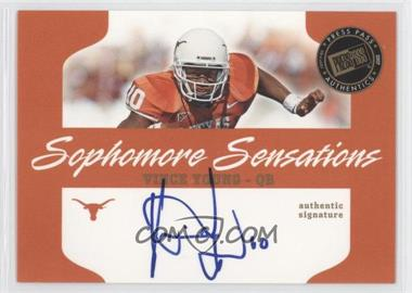 2007 Press Pass Sophomore Sensations #SS-VY - Vince Young