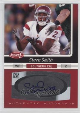 2007 SAGE Aspire - Autographs #23A - Steve Smith