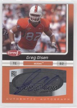 2007 SAGE Aspire - Autographs #25A - Greg Olsen