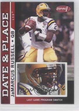 2007 SAGE Aspire - Date & Place - Program #DP-13 - JaMarcus Russell