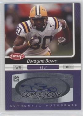 2007 SAGE Aspire [???] #20 - Dwayne Bowe