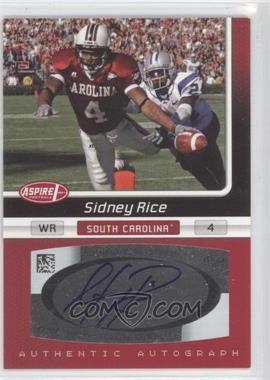 2007 SAGE Aspire [???] #21A - Sidney Rice