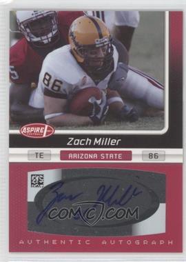 2007 SAGE Aspire [???] #26A - Zach Miller