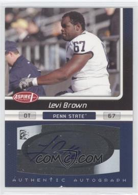 2007 SAGE Aspire [???] #27A - Levi Brown