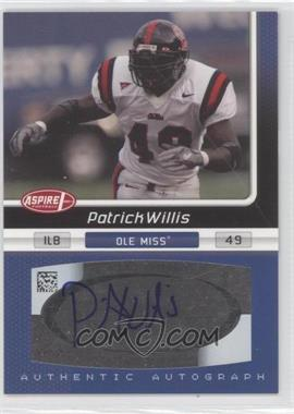 2007 SAGE Aspire [???] #31 - Patrick Willis