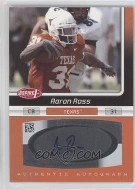 2007 SAGE Aspire [???] #33A - Aaron Ross
