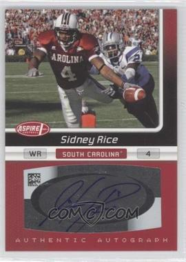 2007 SAGE Aspire Autographs #21A - Sidney Rice