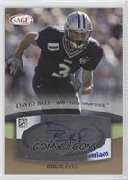 David Ball /200
