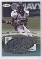 Aundrae Allison /50