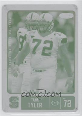 2007 SAGE Hit - [Base] - Printing Plate Yellow #57 - Tank Tyler /1