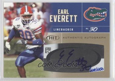 2007 SAGE Hit [???] #A25 - Earl Everett /250
