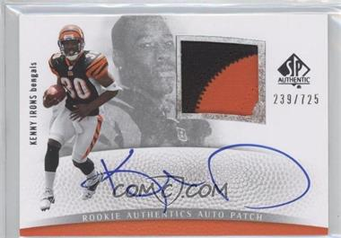 2007 SP Authentic - [Base] #279 - Kenny Irons /725