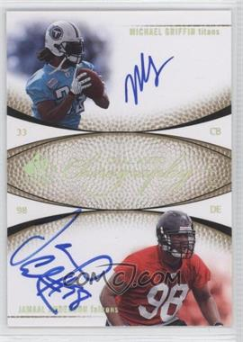 2007 SP Authentic Chirography Dual Autographs #CD-GA - Michael Griffin, Jamaal Anderson /50