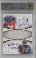 Chris Leak, John Beck /50 [BGS 9]