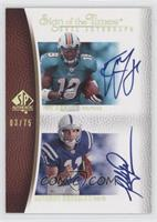 Anthony Gonzalez, Ted Ginn Jr. /75