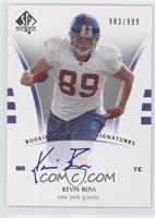 Kevin Boss /999