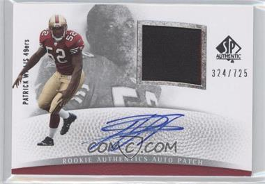 2007 SP Authentic #283 - Patrick Willis /725
