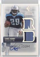 Chris Henry /10