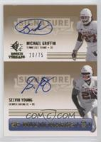 Michael Griffin, Selvin Young /75