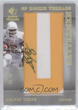 2007 SP Rookie Threads [???] #136 - Selvin Young /99