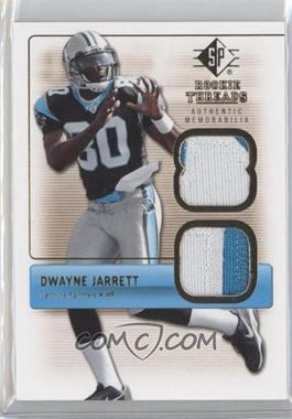 2007 SP Rookie Threads [???] #RT-DJ - Dwayne Jarrett