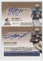 Ted Ginn Jr., Antonio Pittman /75