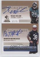 Reggie Nelson, Brandon Meriweather /75