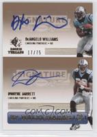 DeAngelo Williams, Dwayne Jarrett /75