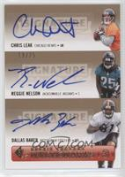 Chris Leak, Reggie Nelson /25