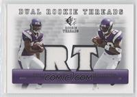 Sidney Rice, Adrian Peterson