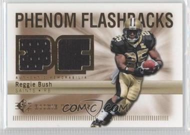 2007 SP Rookie Threads Phenom Flashbacks #PHF-RB - Reggie Bush