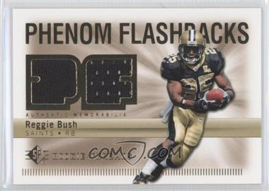 2007 SP Rookie Threads Phenom Flashbacks #PHF-RB - Reggie Bush