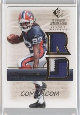 2007 SP Rookie Threads Rookie Threads Gold #RT-ML2 - Marshawn Lynch /150
