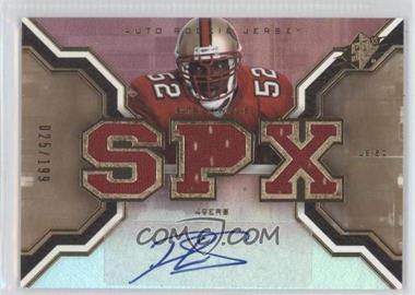 2007 SPx - [Base] - Rookies Gold #198 - Patrick Willis /199