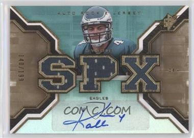 2007 SPx - [Base] - Rookies Gold #209 - Kevin Kolb /199