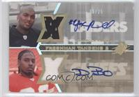 JaMarcus Russell, Dwayne Bowe /25
