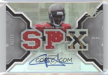 2007 SPx Rookies Gold Holofoil #193 - Gaines Adams /25