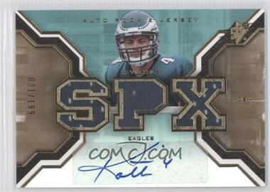 2007 SPx Rookies Gold #209 - Kevin Kolb /199